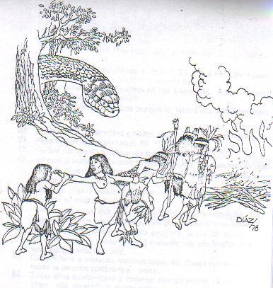 La serpiente adorada